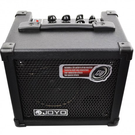 JOYO DC-15 Digital Guitar Amplifier with Delay Reverb Effect 36 Pattern Drum